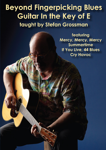 Stefan Grossman / Beyond Fingerpicking Blues Guitar in E