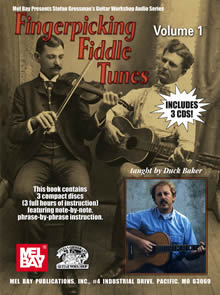 Duck Baker / Fingerpicking Fiddle Tunes Vol.1