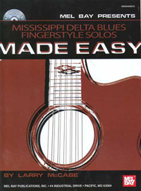 Larry McCabe / Mississippi Delta Blues Fingerstyle Solos