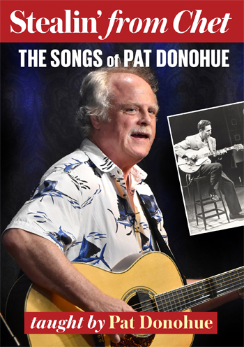 Pat Donohue / Stealin' From Chet - The Songs of Pat Donohue