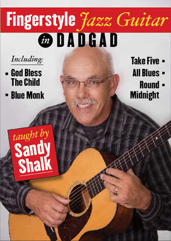 Sandy Shalk / Fingerstyle Jazz Guitar in DADGAD