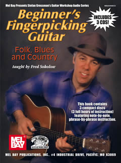 Fred Sokolow / Beginner's Fingerpicking: Folk, Blues & Country