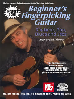 Fred Sokolow / Beginner's Fingerpicking: Rag, Pop, Blues & Jazz