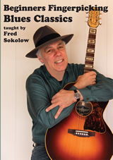 Fred Sokolow / Beginners Fingerpicking Blues Classics