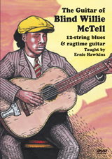 Ernie Hawkins / The Guitar of Blind Willie McTell