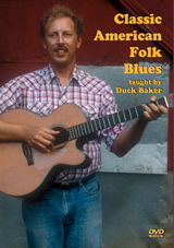 Duck Baker / Classic American Folk Blues Themes