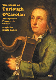 Duck Baker / Music of Turlough O'Carolan