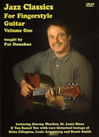 Pat Donohue / Jazz Classics for Fingerstyle Vol. 1