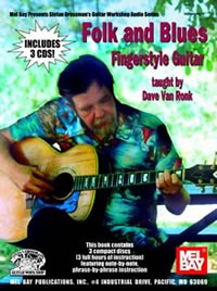 Dave Van Ronk / Folk & Blues Fingerstyle Guitar
