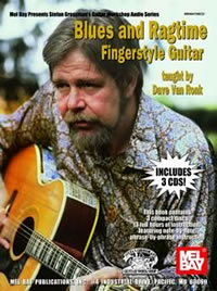 Dave Van Ronk / Blues & Ragtime Fingerstyle Guitar