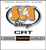 SIT:CRT COATED ACOUSTIC GUITAR STRINGS ライト・ゲージ