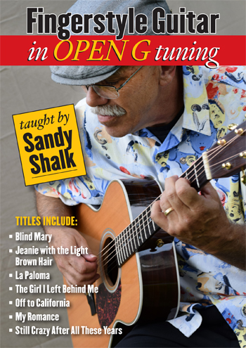 Sandy Shalk / Fingerstyle Guitar in Open G Tuning