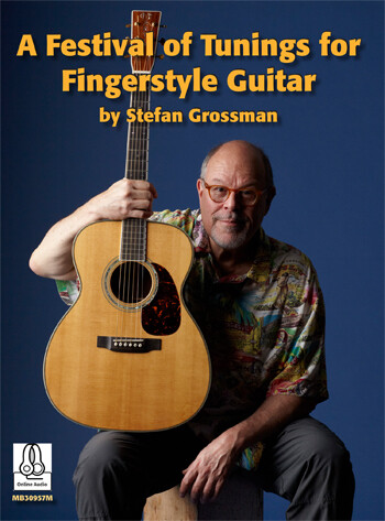 <楽譜集>A Festival of Tunings for Fingerstyle Guitar