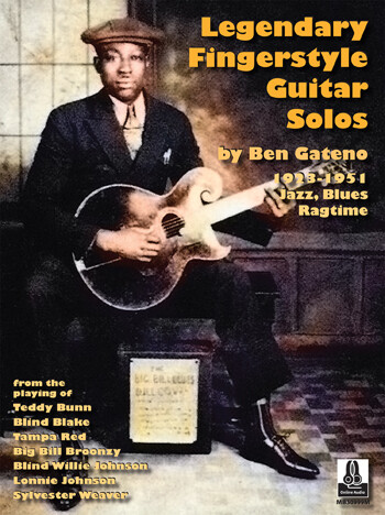<楽譜集>Ben Gateno / Legendary Fingerstyle Guitar Solos