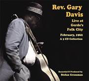 Rev. Gary Davis / Live at Gerde's Folk City